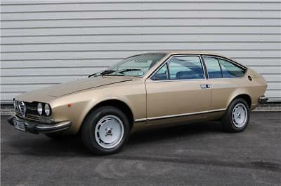 1979 Alfa Romeo GTV 2000 Coupe 2 Door in Original Gold Velour Classic Car