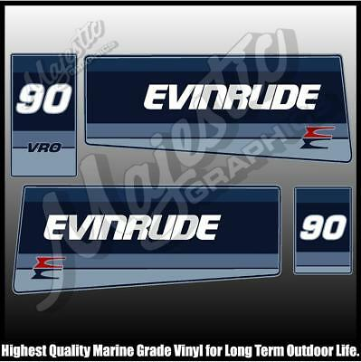 EVINRUDE - 90 hp - VRO - OUTBOARD DECALS