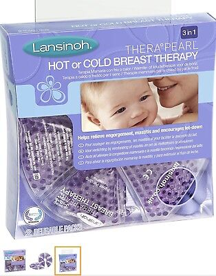 Lansinoh 3-in-1 Hot/Cold Breast Therapy Relieve and Encourage Breastfeeding