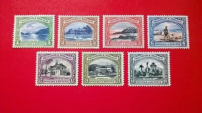 Trinidad  1935 KGVI Pictorial issues
