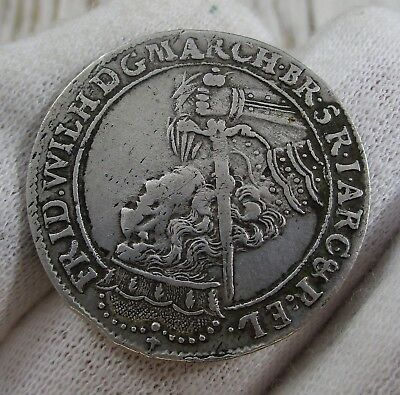 1682 German States Prussia Coin Silver 18