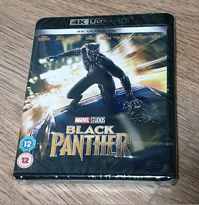 Black Panther 4k UHD HDR Brand New & Unopened Limited time low price. Free P&P