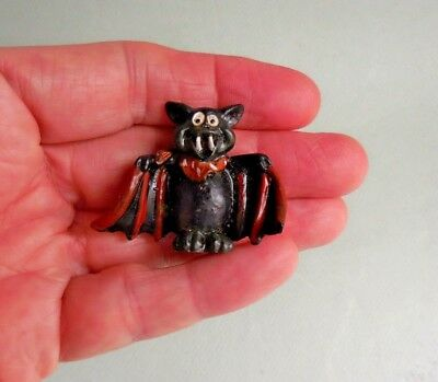 1.5x2 DOLLHOUSE MINIATURE PRINT OF PAINTING RYTA 1:12 SCALE SCARY NASTY CLOWN