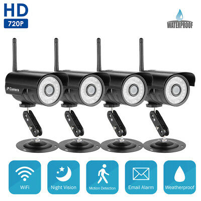 WIFI Wireless Outdoor Night Vision CCTV IP Camera Network Home Security System