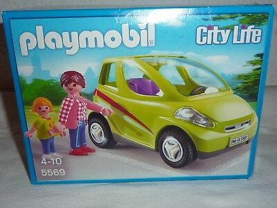 Playmobil 5569 Auto, Mutter, Kind, Kindersitz, OVP, komplett, top erhalten