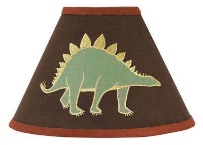 Sweet Jojo Designs Table Lamp Shade for Dinosaur Land Baby Boys Kid Bedding Set