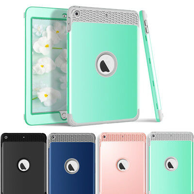 NEW Heavy Duty Hard TPU Shockproof Case Cover For iPad 6th Generation 2018 9.7""