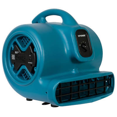XPower P-600A 1/3-Hp 3.8-Amp 2,400-Cfm 3-Speed Electric Air Mover/Dryer