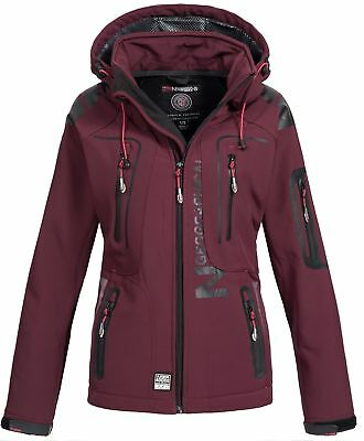 Geographical Norway Damen Softshelljacke Tassion burgundy L Regenjacke B-Ware