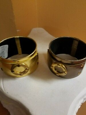 jewelry bracelet one is a gold color the other is a bronze two for 1 price