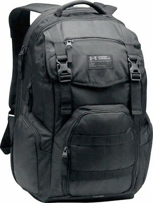 Under Armour Coalition 2.0 backpack NEW Authentic UA Black Tactical Retail $109