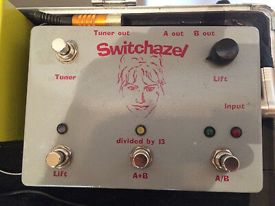 DIVIDED BY 13 SWITCHAZEL rare pedal A/B BOX TUNER OUT BOOST