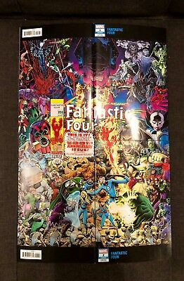 Fantastic Four #1 & #2 Arthur Adams Wrap Variant Covers 1st Print SOLD OUT Key !