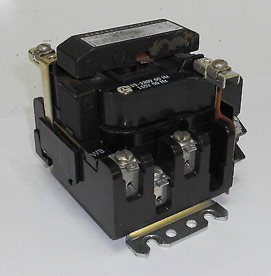 General Electric Size 0 Contactor, CR305J0, 120V Coil, Used, Warranty