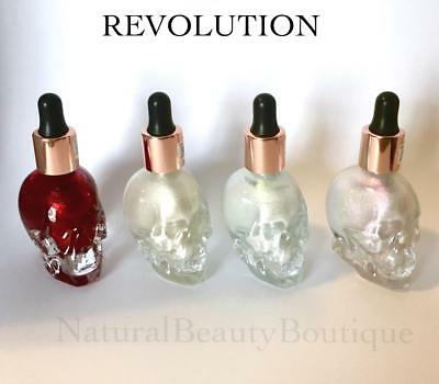 REVOLUTION SFX Makeup HAUNTED SKULL Liquid HIGHLIGHTER Halloween Goth Zombie