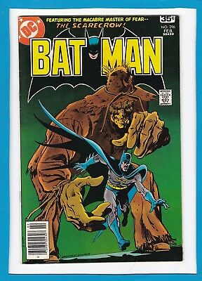 """Batman #296_Feb 1978_Vf/nm_""""the Sinister Straws Of The Scarecrow""""_Bronze Age Dc!"""