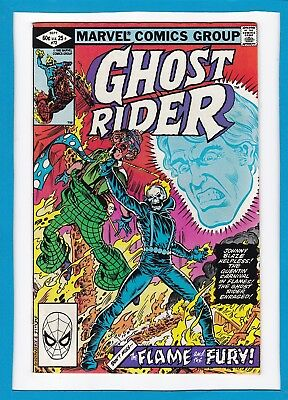 "Ghost Rider #72_September 1982_Vg_""the Flame And The Fury""_Bronze Age Marvel!"