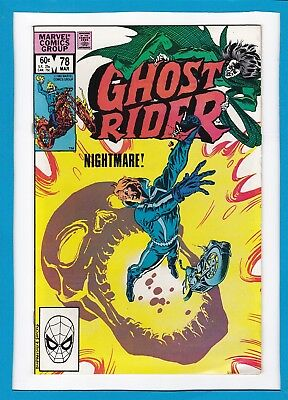 Ghost Rider #78_March 1983_Vg_Dr. Strange_Son Of Satan_Dr. Druid_Mephisto!
