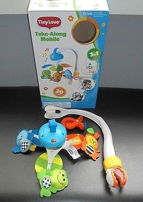 Tiny Love Take A Long Musical Baby Mobile With Box