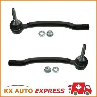 2X Front Outer Steering Tie Rod End for Volvo V70 XC70 XC90