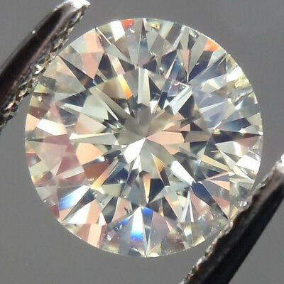 4.5 MM 0.24-0.27 CT Off White Round Shape Brilliant Cut Real Moissanite for Ring