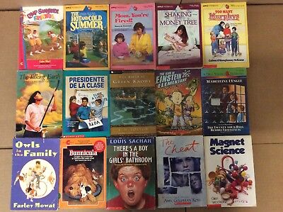Lot of 20 Chapter Scholastic Disney RL 2 3 4 5 Child Books AR MIX UNSORTED #F42