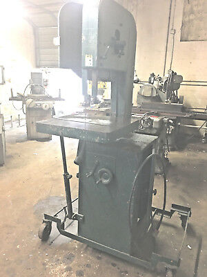 Sold Building -ALL MUST GO- Do-All Vertical Band Saw REDUCED