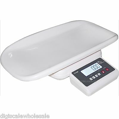 Baby Scale T-Scale M105 Pediatric Infant Digital Weigh 44lb x 0.002lb White