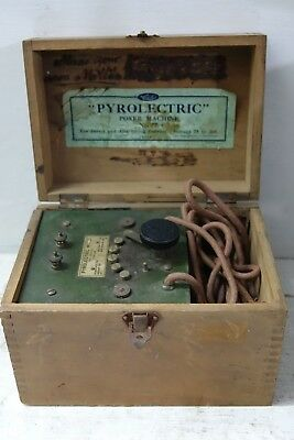 Very Old Electric Shock Machine - Pyrolectric - Rare - L@@k