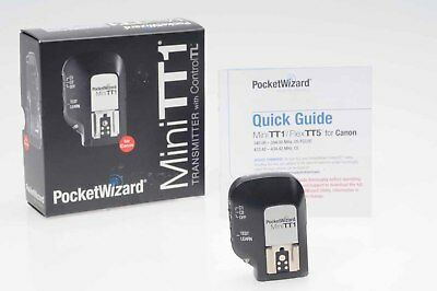 PocketWizard Mini TT1 Transmitter Pocket Wizard for Canon                   #623