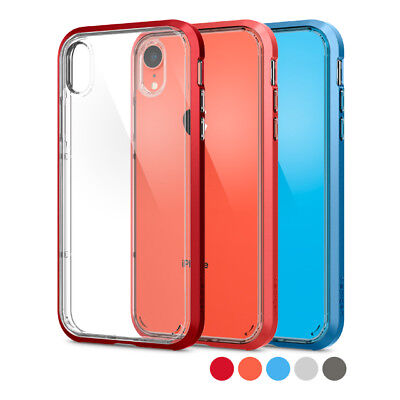 competitive price 28711 3dc2b IPHONE XR | Spigen® [Neo Hybrid Crystal] Bumper Protective Shockproof Case  Cover