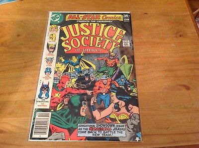 ALL-STAR COMICS 69 JUSTICE SOCIETY 1977. 1st APPEARANCE OF EARTH 2's HUNTRESS.