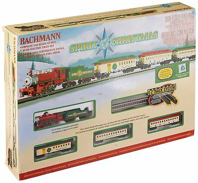 Bachmann 24017 N Scale Spirit Of ChrisThomas Ready To Run Electric Train Set