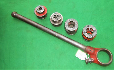 Ridgid Pipe Threading Dies And Ratchey?handle   111-R