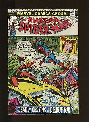 Amazing Spider-Man 117 FN 5.5 * 1 Book Lot * 1973,Marvel! 1st as Disruptor!