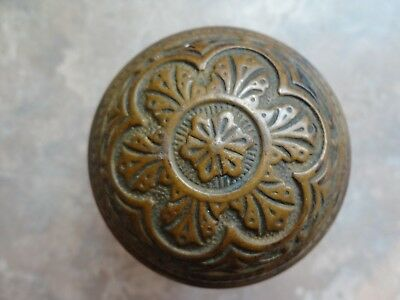 Antique Brass Door Knob Victorian