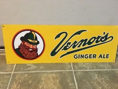 Vernors Ginger Ale Advertising Sign