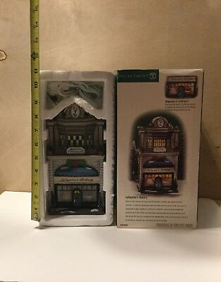 """Department 56 Christmas in the City """"Lafayette's Bakery"""" **NIB**"""