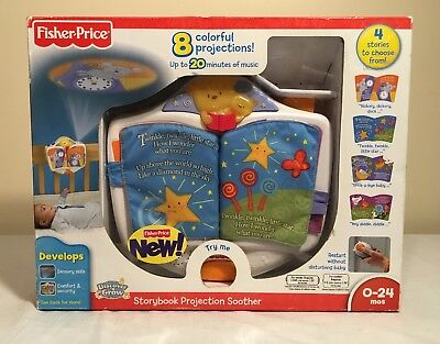 Fisher-Price Discover 'n Grow Storybook Projection SOOTHER W2005 RARE Calm Baby