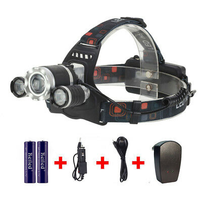 Led Headlamp led Rechargeable Headlight Torch for Outdoor Camping Lamp 4 Modes