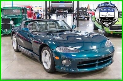 Dodge Viper 1995 Dodge Viper RT/10 8L V10 Roadster 95 1995 Dodge Viper RT/10 8L V10 Manual 7,108 Miles All Documents Clean Carfax 95