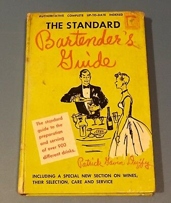 Vintage 1948 The Standard Bartender's Guide 900 Mixed Drink Recipes Permabooks!