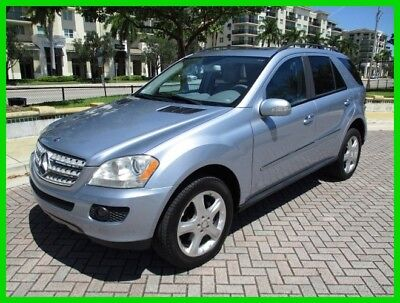 Mercedes-Benz M-Class ML320 CDI 4MATIC 1-Owner Heated Seats Navigation 2008 Mercedes Benz ML320 CDI 4 MATIC 1-Owner Navi Camera Clean Carfax No Reserve