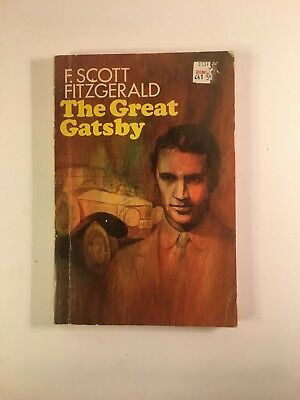 The Great Gatsby by F. Scott Fitzgerald 1953 Scribner's Paperback  NICE