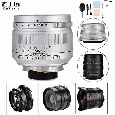 7Artisans 12mm f2.8 Manual Focusing Wide Angle Lens for Sony Canon M4/3 DY