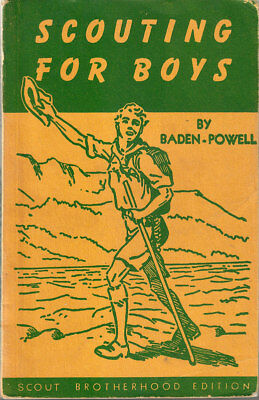 """Rare """"scouting For Boys"""" Baden-Powell Of Gilwell Woodcraft Bp Boy Scouts Canada"""