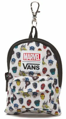 Vans Off The Wall X Marvel Heads Backpack Keychain