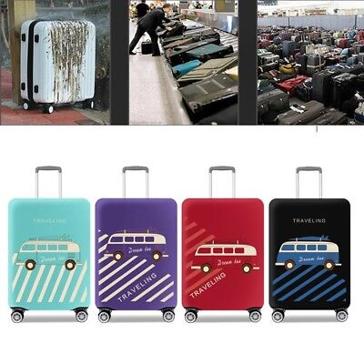 """Travel Luggage Suitcase Elastic Protective Dust-proof Case Cover 18"""" 20'' 22"""" 24"""