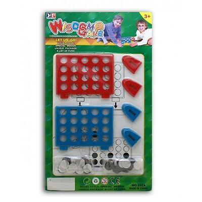 kids childs plastic Connect 4 3 in a row game toy gift Christmas stocking filler