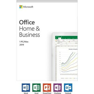 Microsoft Office Home and Business 2019 (PC/Mac)